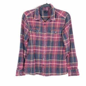 Patagonia worn wear organic cotton buttondown
